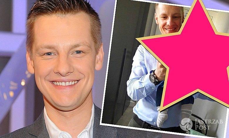 Marcin Mroczek pokazał nowe zdjęcie syna