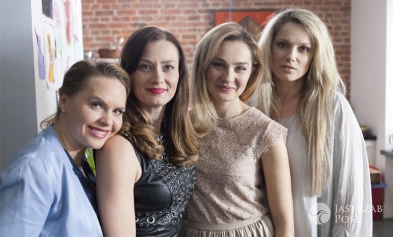 Przyjaciółki odcinek 84, Zuza (Anita Sokołowska, Inga (Małgorzata Socha), Patrycja (Joanna Liszowska), Anka (Magdalena Stużyńska)