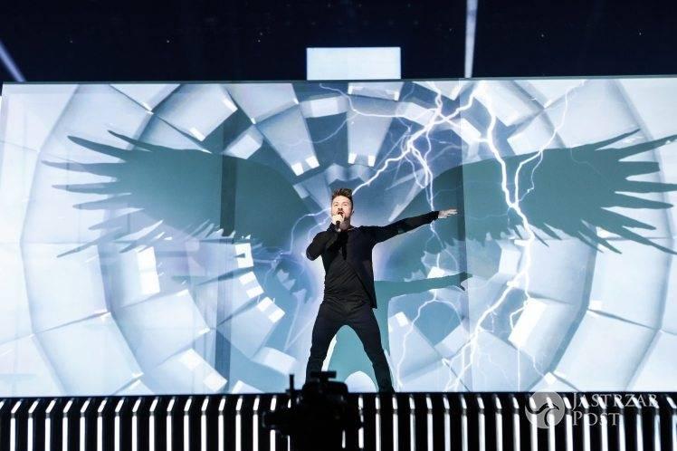 Sergey Lazarev w półfinale Eurowizji 2016 - wideo
