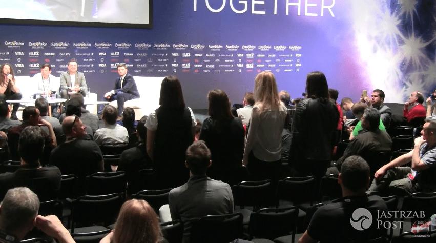 Zespół Michała Szpaka na Eurowizji 2016