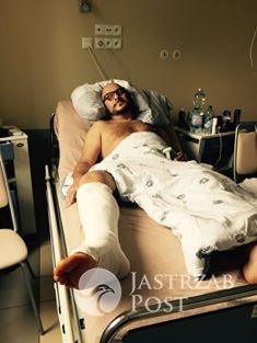 Piotr Gąsowski w szpitalu