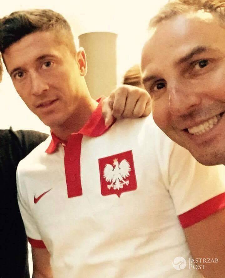 Krzysztof Gojdź spotkał się z Robertem Lewandowskim