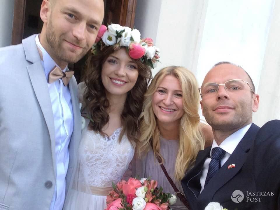 Paulina Gałązka i Sindre Sandemo wzięli ślub