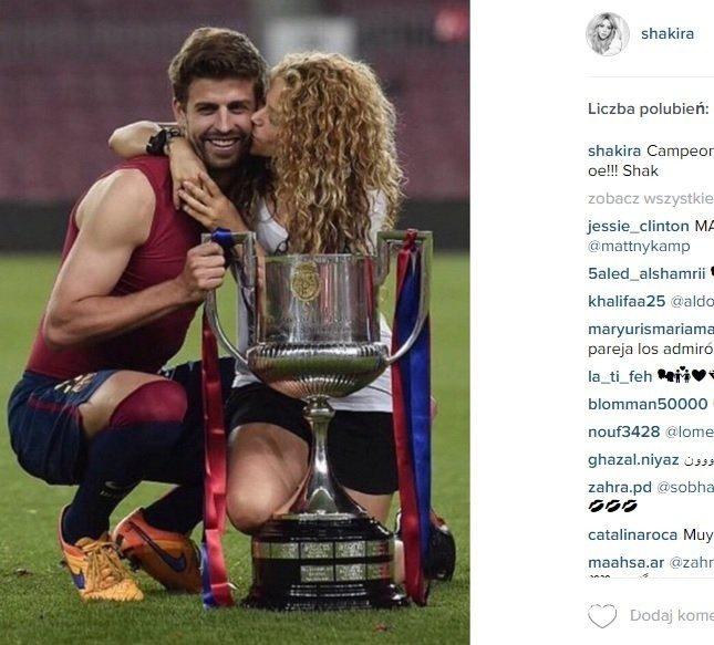Shakira skomentowała mecz Polska-Szwajcaria na EURO 2016!