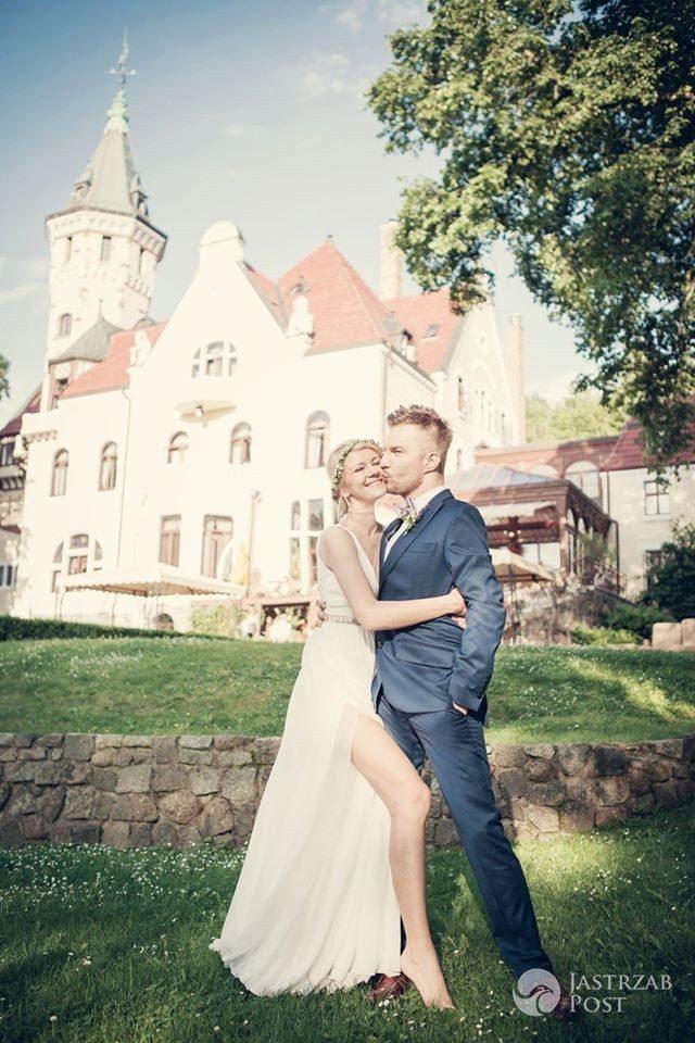 Ślub Adama Sztaby i Agnieszki Dranikowskiej