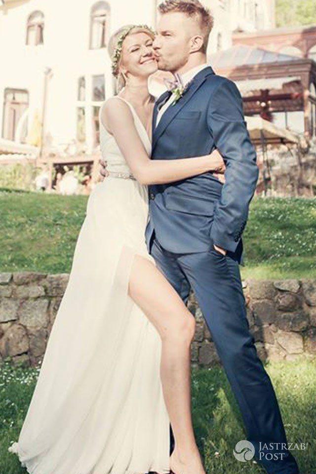Zdjęcia ze ślubu Adama Sztaby i Agnieszki Dranikowskiej