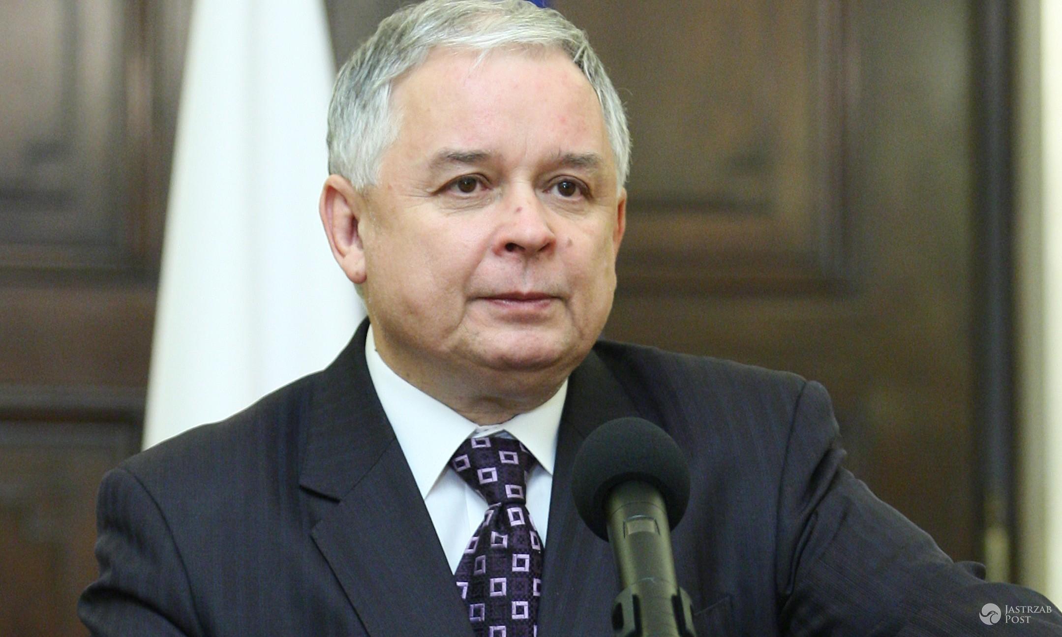 15-12-2008 Konferencję prasowa Prezydenta RP Lecha Kaczynskiego na temat emerytur pomostowych fot. Krzysztof Swiezak / ONS