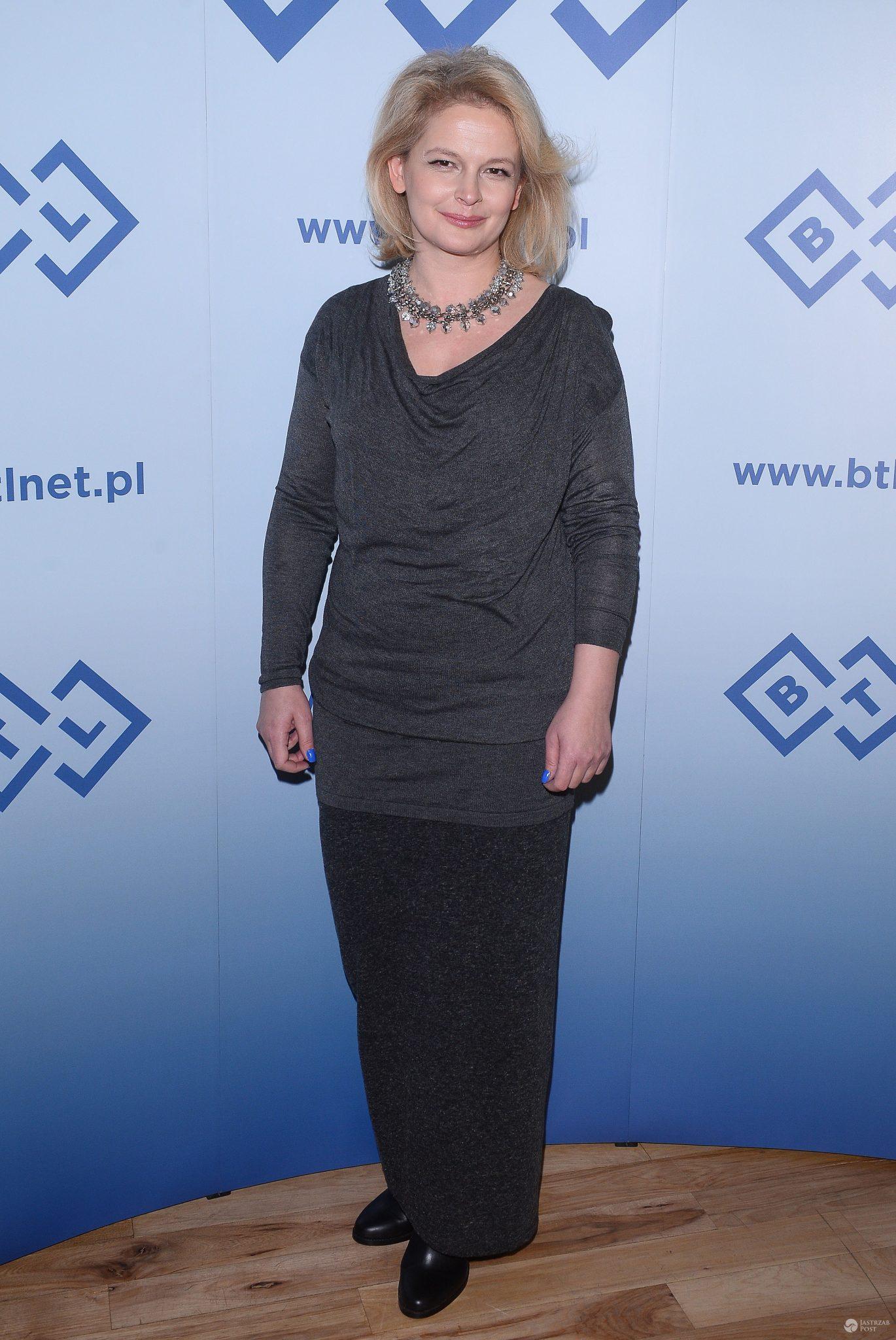 Dominika Ostałowska w trakcie diety (2015r.)