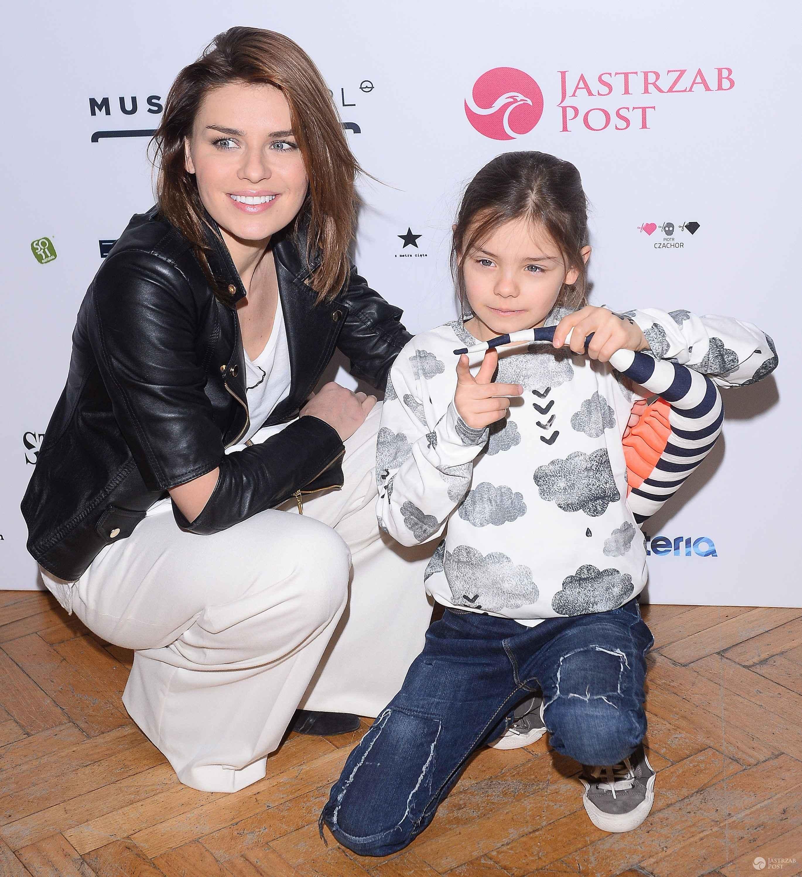 Natasza Urbańska z córką Kaliną (fot. ONS)