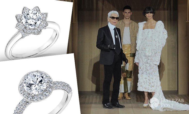 Karl Lagerfeld zaprojektował pierścionki zaręczynowe