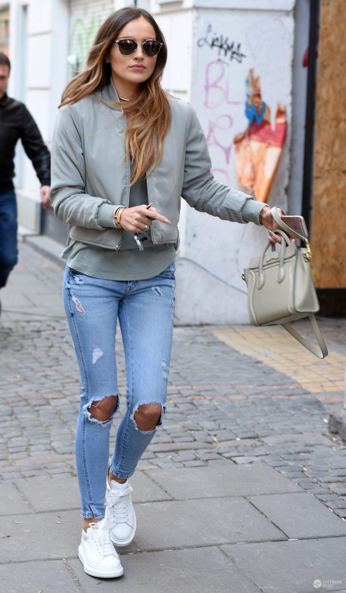 W stylu Mariny Łuczenko: okulary Dior, torebka Celine