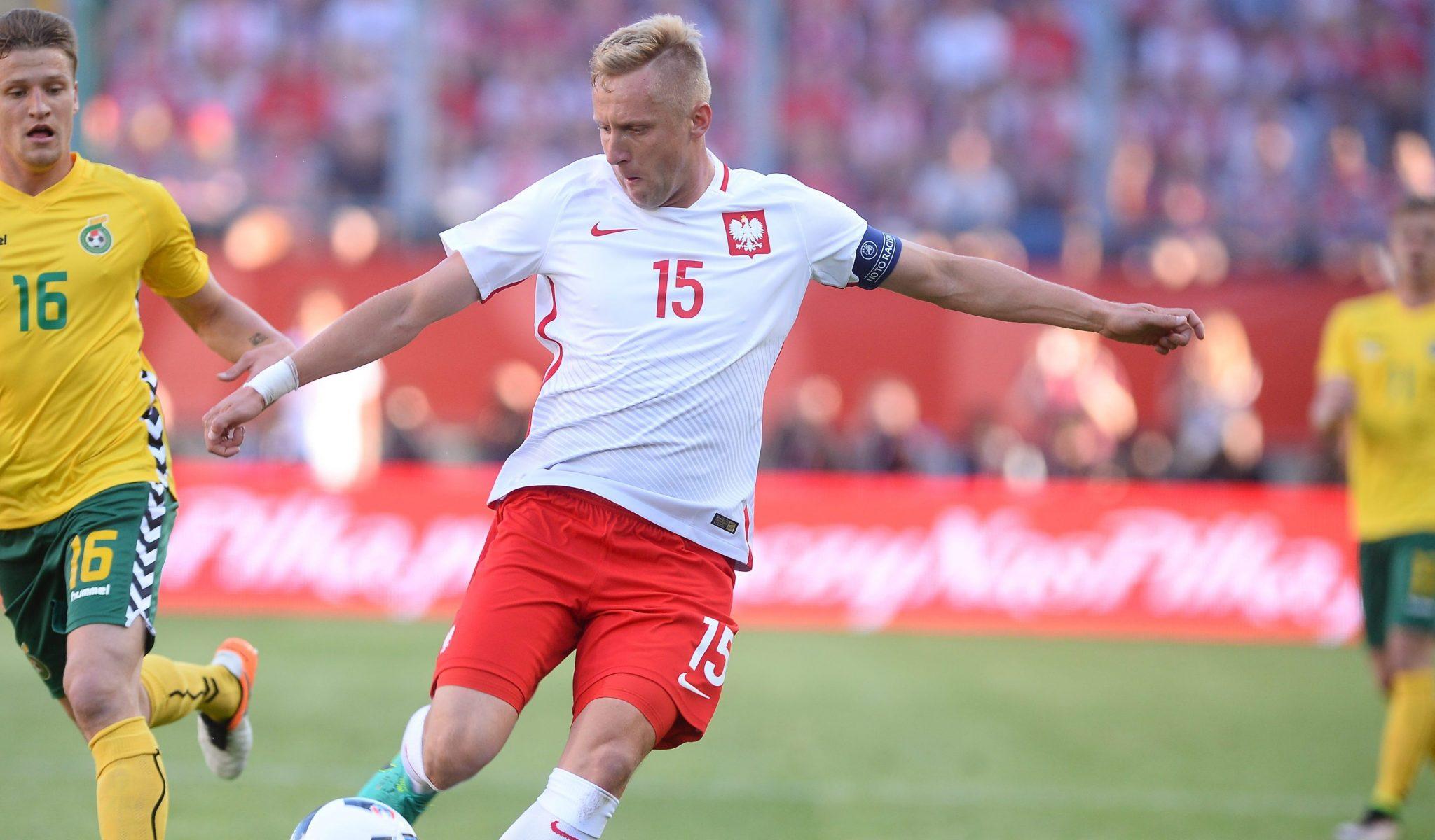 Kamil Glik, mecz Polska - Litwa