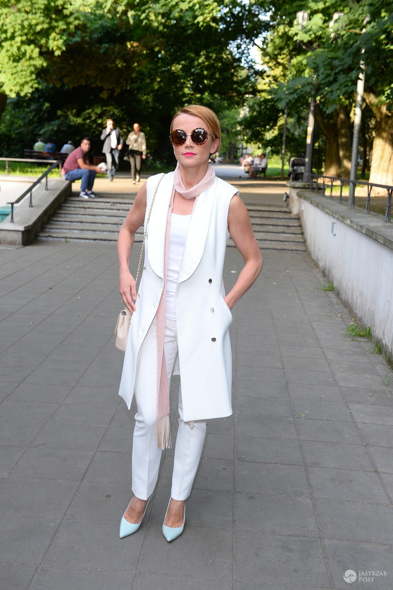 """Katarzyna Zielińska na premierze filmu """"W Spirali"""""""