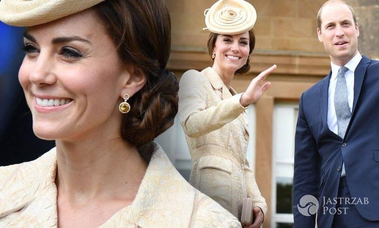 Księżna Kate na garden party na zamku Hillsborough w Irlandii Północnej (fot. ONS)