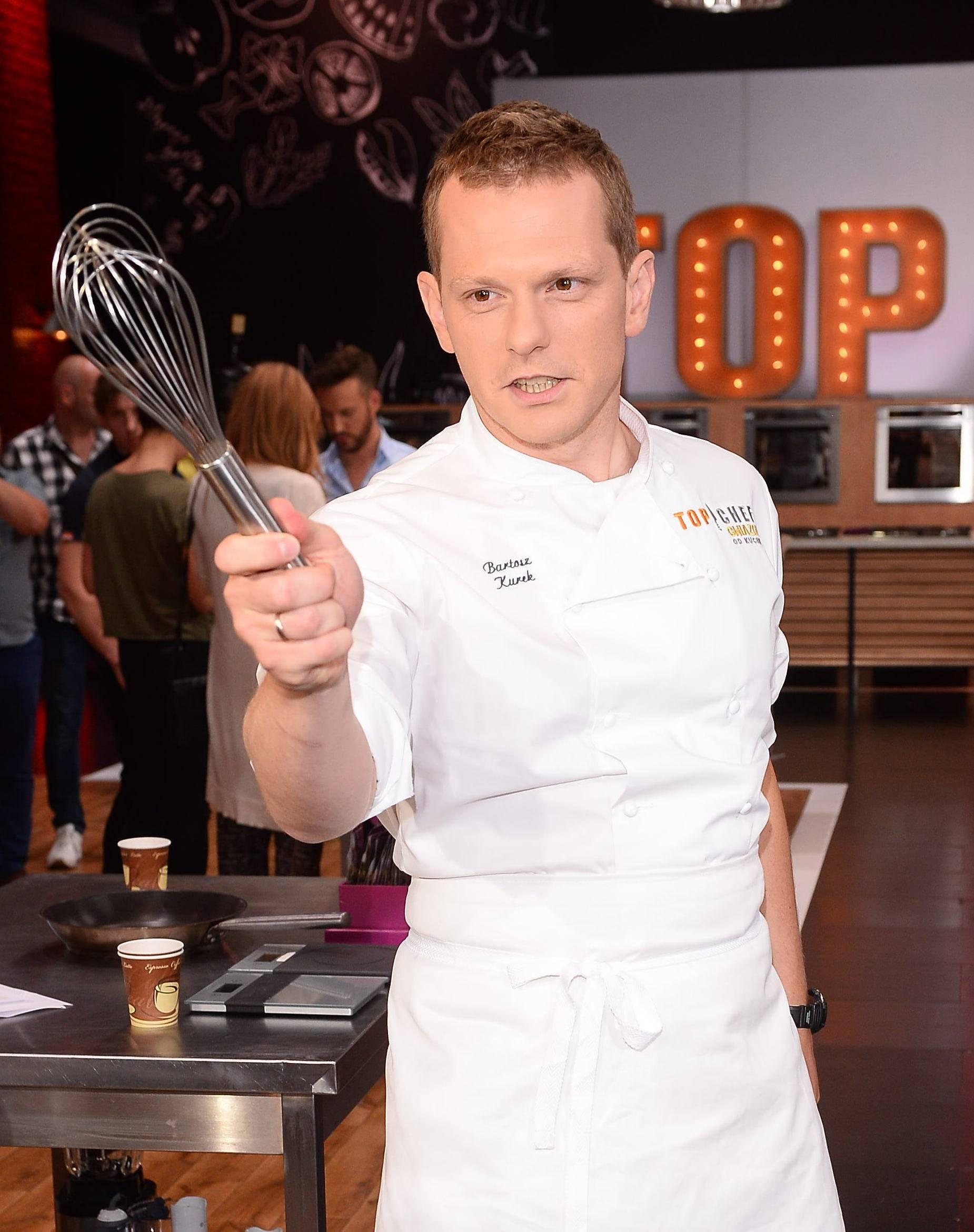 Bartosz Kurek w Top Chef Gwiazdy. Kto to?