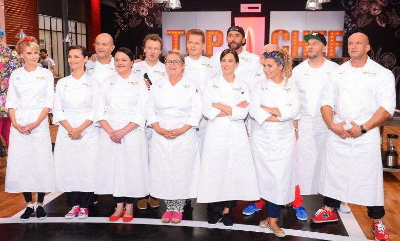 """Konferencja """"Top Chef Gwiazdy"""" - wszyscy uczestnicy"""