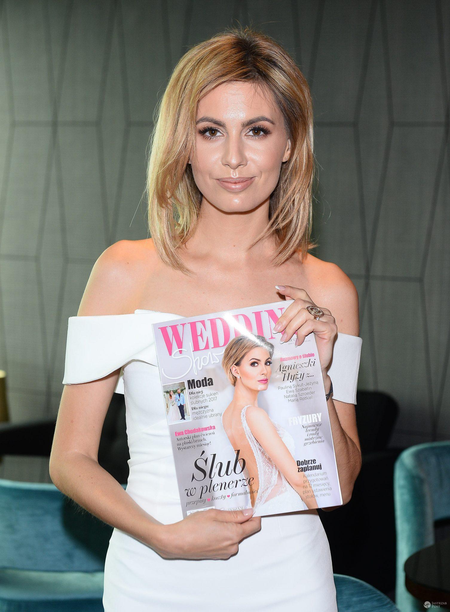 Wedding Show - okładka ślubnego magazynu Agnieszki Hyży