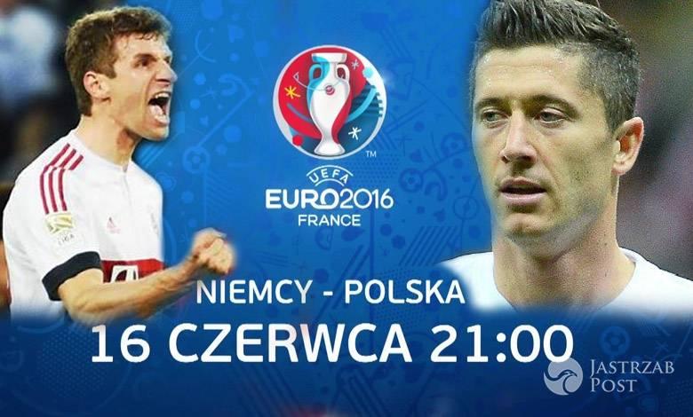 Mecz Niemcy-Polska na EURO 2016