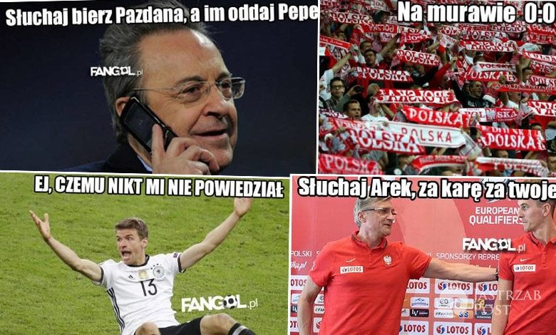Memy po meczu Polska-Niemcy na EURO 2016