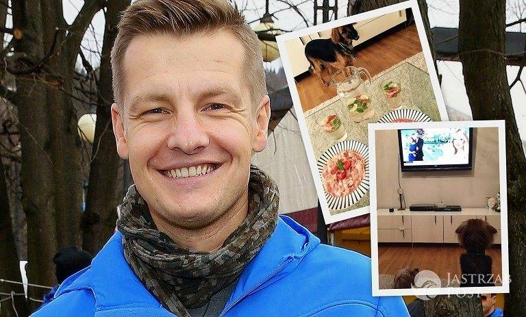Jak mieszka Rafał Mroczek?