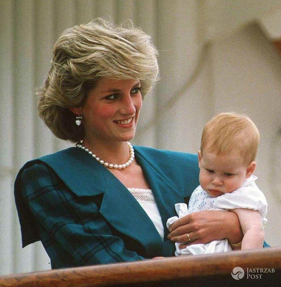 Księżna Diana i książę Harry, 1985 r. (fot. East News)