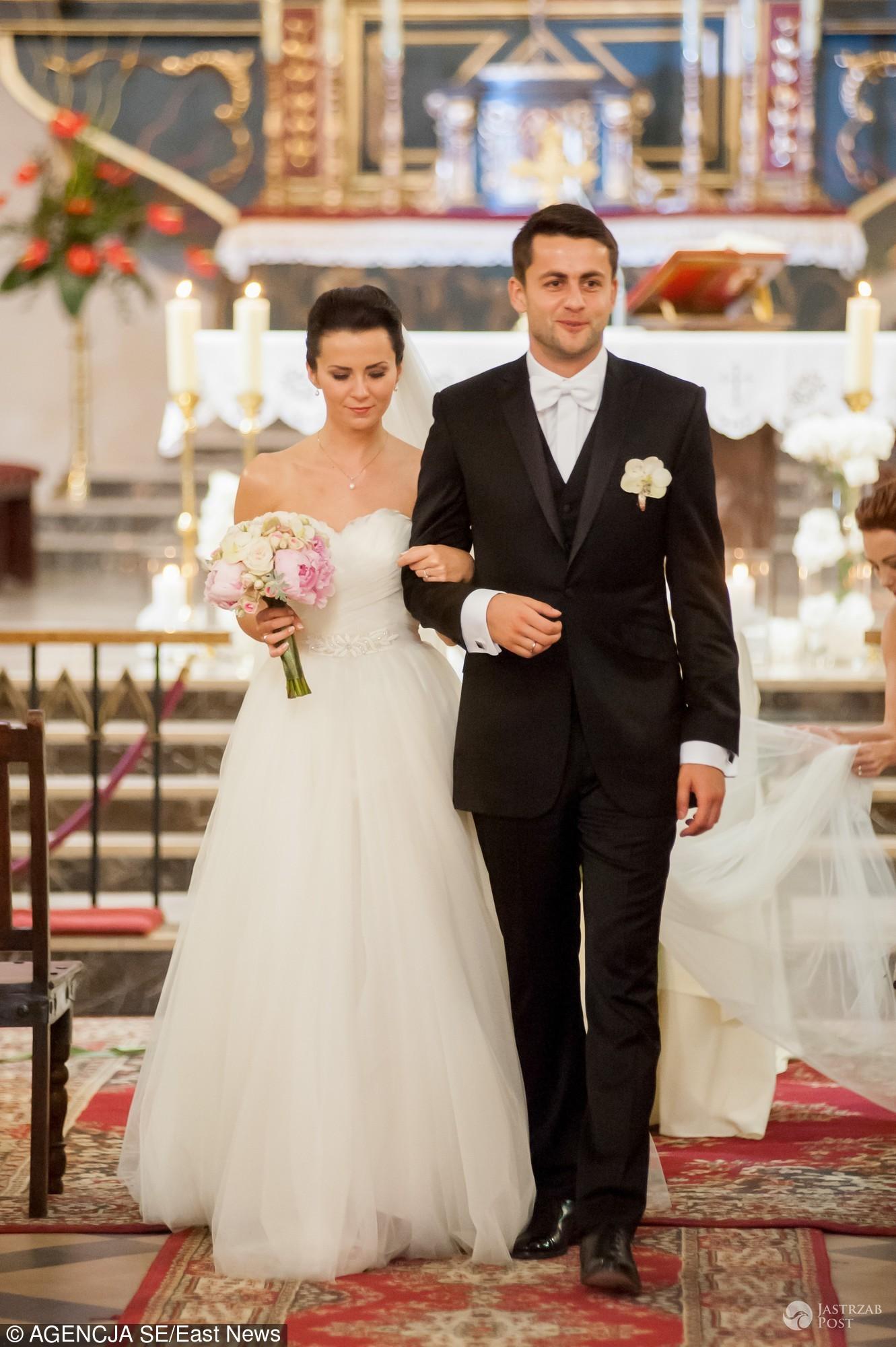 ślub łukasza Fabiańskiego I Anny Grygier Jastrząb Post