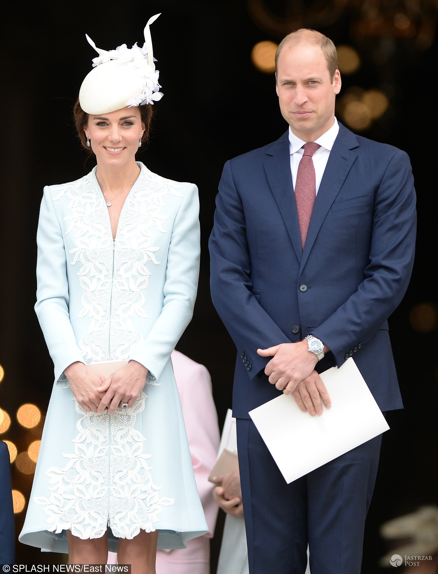 90. urodziny królowej Elżbiety II - księżna Kate i książę William
