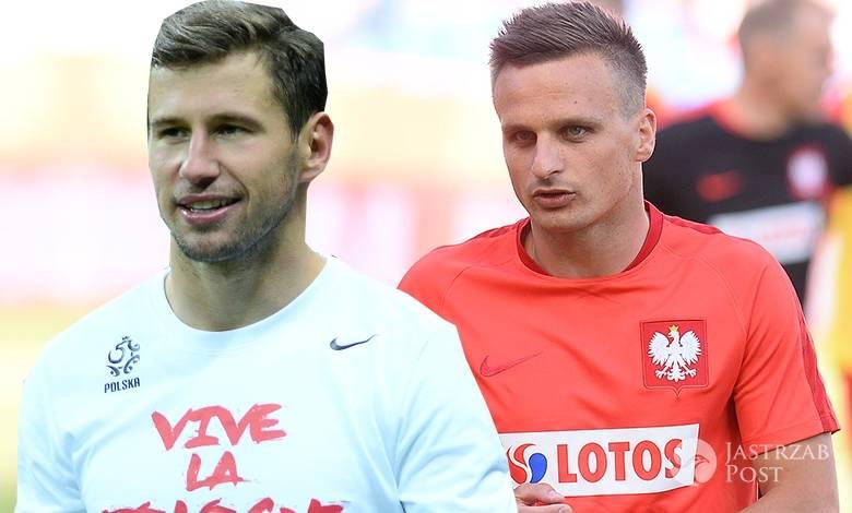 Grzegorz Krychowiak i Sławomir Peszko