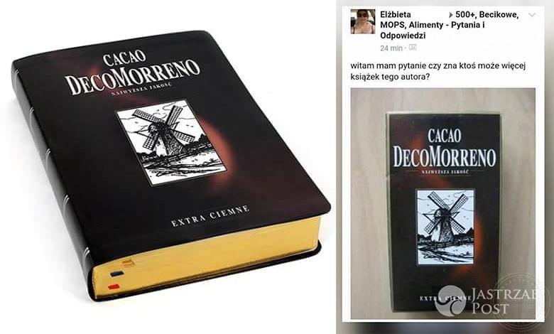 Książka z kakao