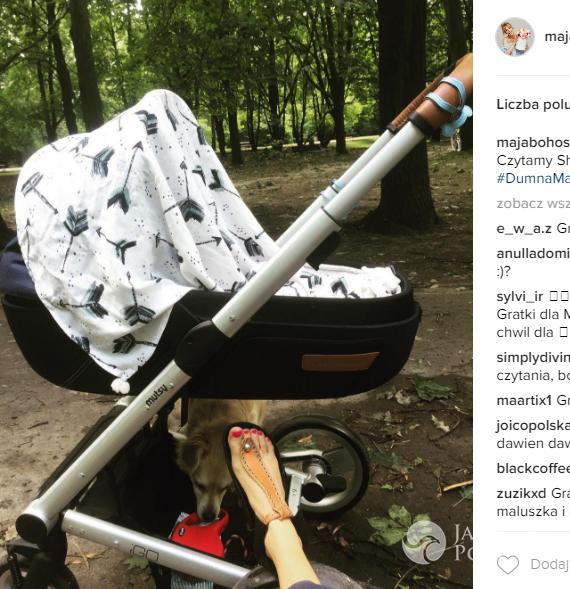 Maja Bohosiewicz urodziła. Syn czy córka?