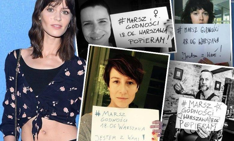 Marta Dyks współorganizuje Marsz Godności 2016