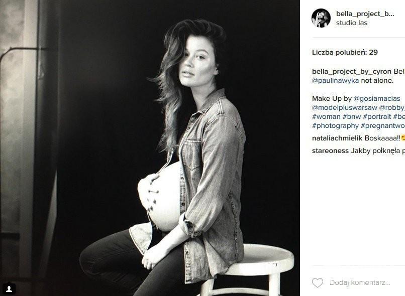 Paulina Wyka, partnerka Macieja Zakościelnego, jest w zaawansowanej ciąży