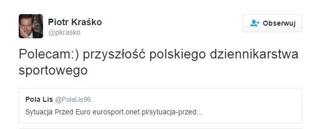 Piotr Kraśko o Poli Lis