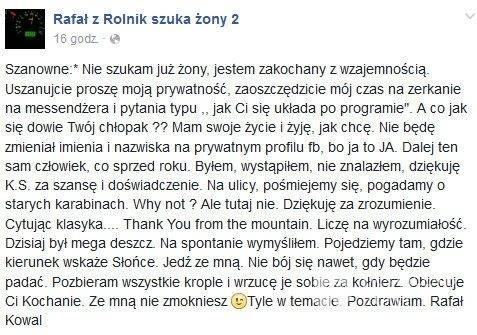 Rafał Kowal z