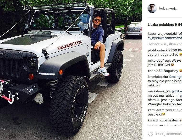 Kuba Wojewódzki kupił nowy samochód