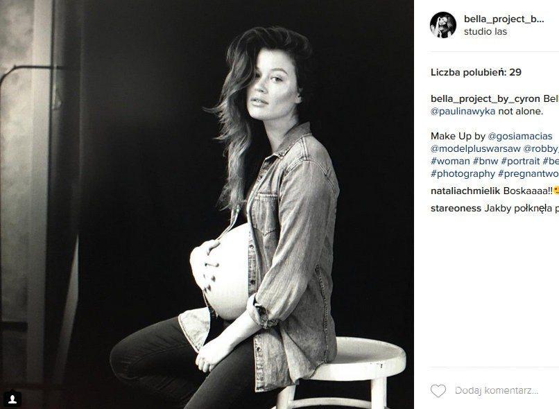 Paulina Wyka jest w zaawansowanej ciąży