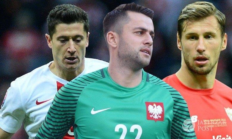 Robert Lewandowski, Grzegorz Krychowiak, Łukasz Fabiański