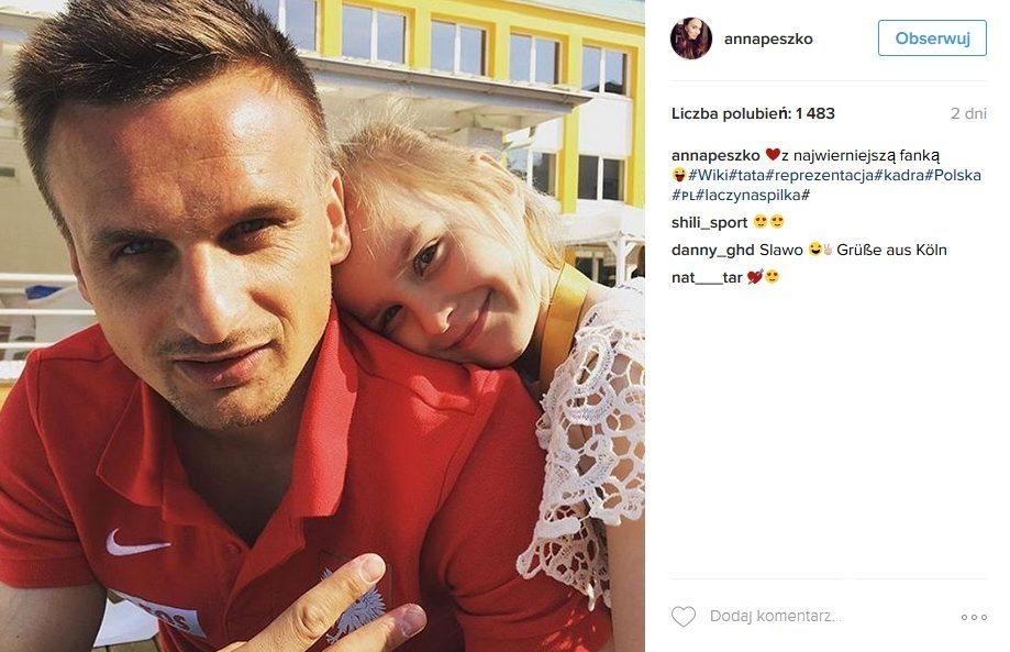 Sławomir Peszko o Robercie Lewandowskim (fot. Instagram)