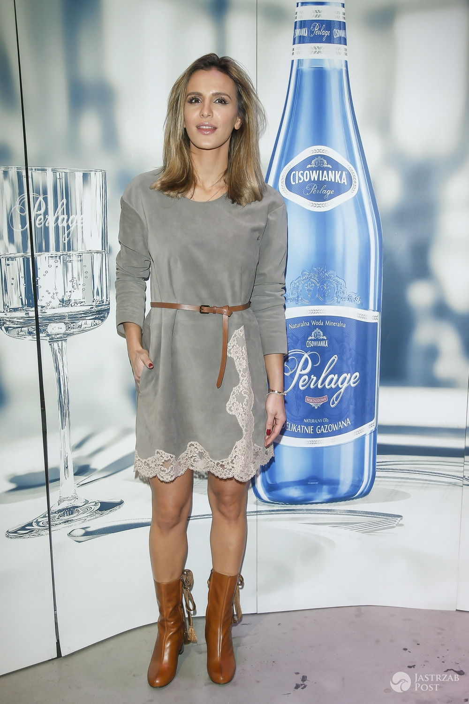 Styl Sary Boruc: sukienka Chloe (fot. AKPA)