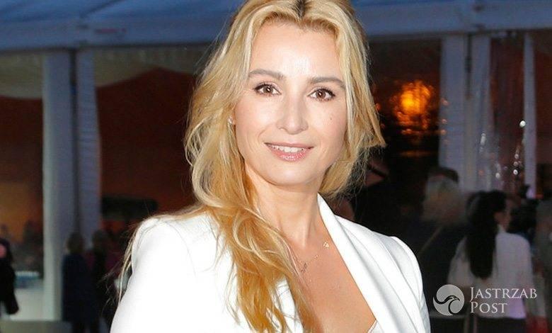 Joanna Brodzik na gali Kryształowe Zwierciadła 2016 (fot. AKPA)