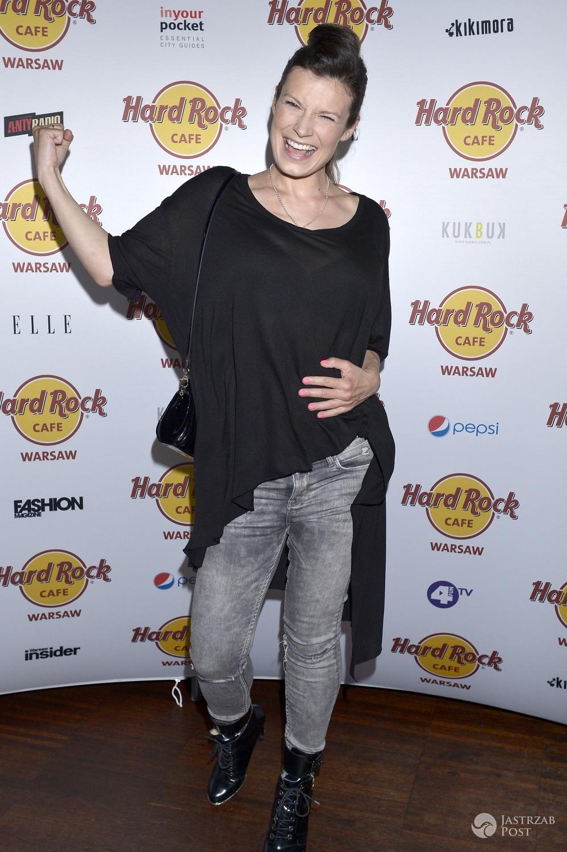 Kasia Kępka świętowała 45. urodziny Hard Rock Cafe (fot. AKPA)