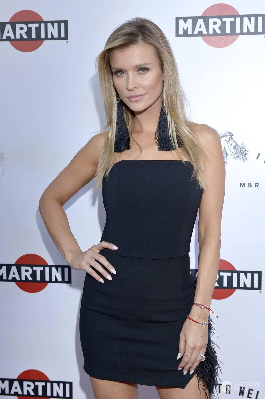 Sukienka: Marlu, kolczyki: Scallini. Joanna Krupa, prezentacja nowej butelki Martini (fot. AKPA)
