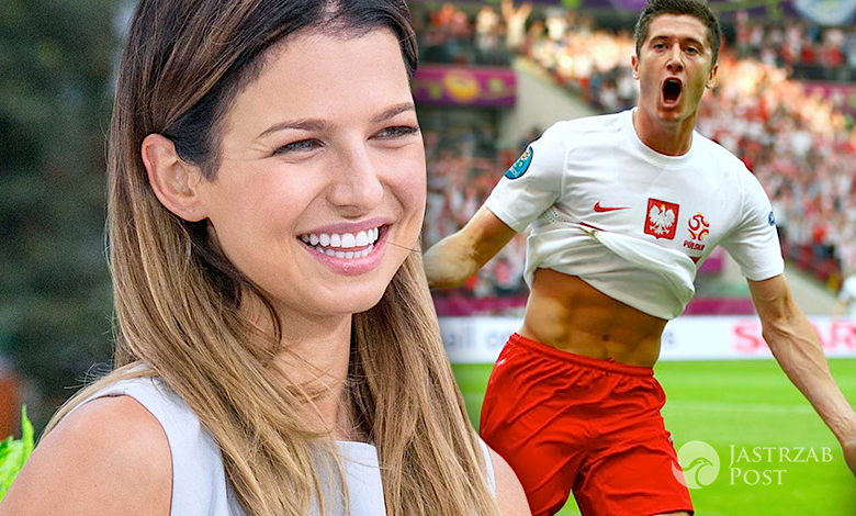 Anna Lewandowska o golu Roberta w meczu z Portugalią