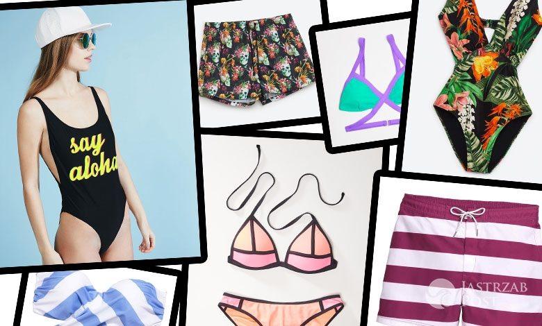 modne kostiumy kąpielowe lato 2016 z sieciówek