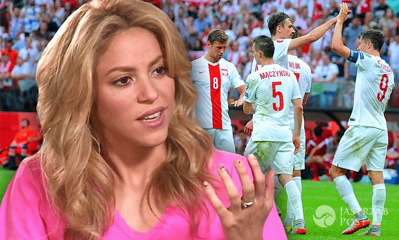 Shakira o meczu Polska-Szwajcaria na EURO 2016