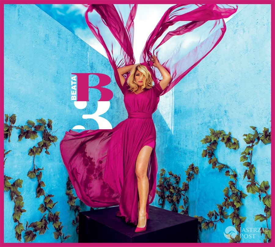 Beata Kozidrak - okładka płyty B3-Be Free, wersja podstawowa