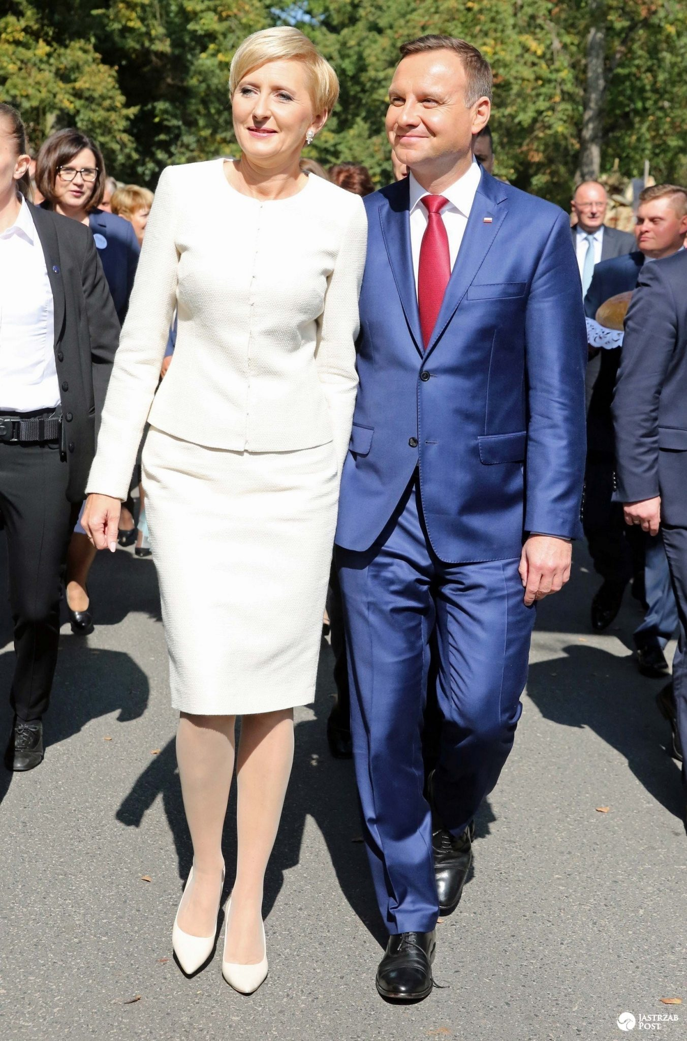 Agata Duda nie mieszka w pałacu prezydenckim