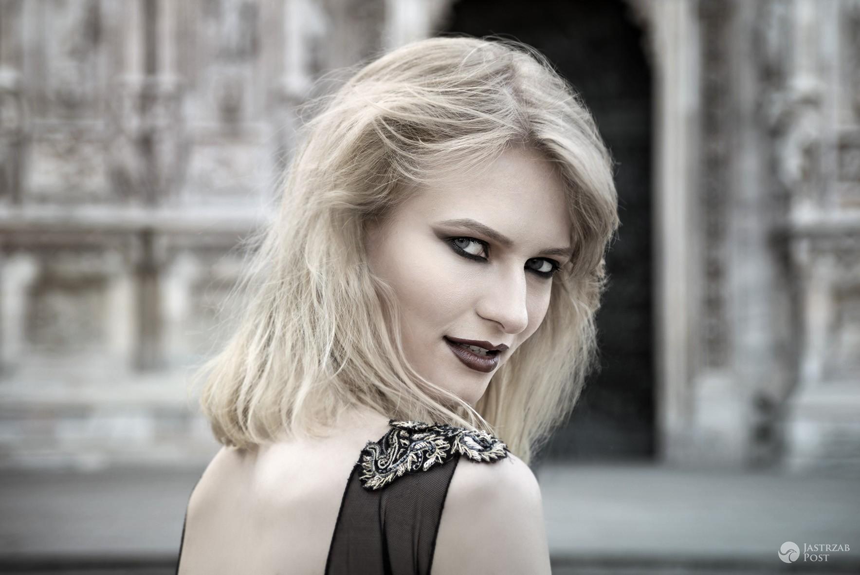 Ania Piszczałka w sesji zdjęciowej we Włoszech. Makijaż i fryzury Jennifer Tridico, zdjęcia Dominika Bąk