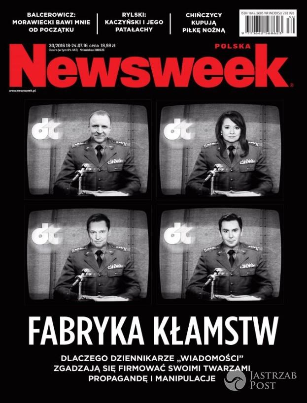 Mocna okładka Newsweeka! Piszą o kłamstwach i pokazują zdjęcia gwiazd