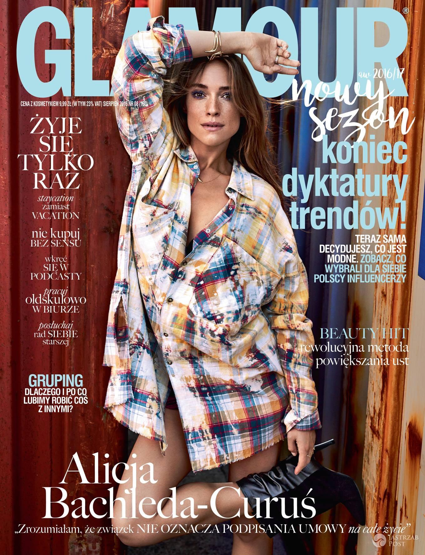 Alicja Bachleda-Curuś na okładce